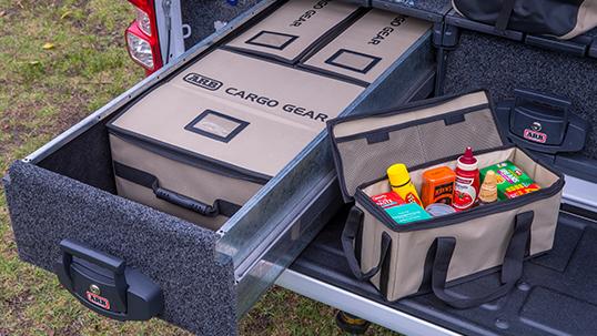 ARB カーゴオーガナイザー(ラージ・スモール)×ドロワーキット:CARGO GEAR カーゴギア