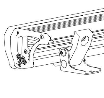 ARB INTENSITY(インテンシティ)LEDライトバーAR40用 台座取り付けキット