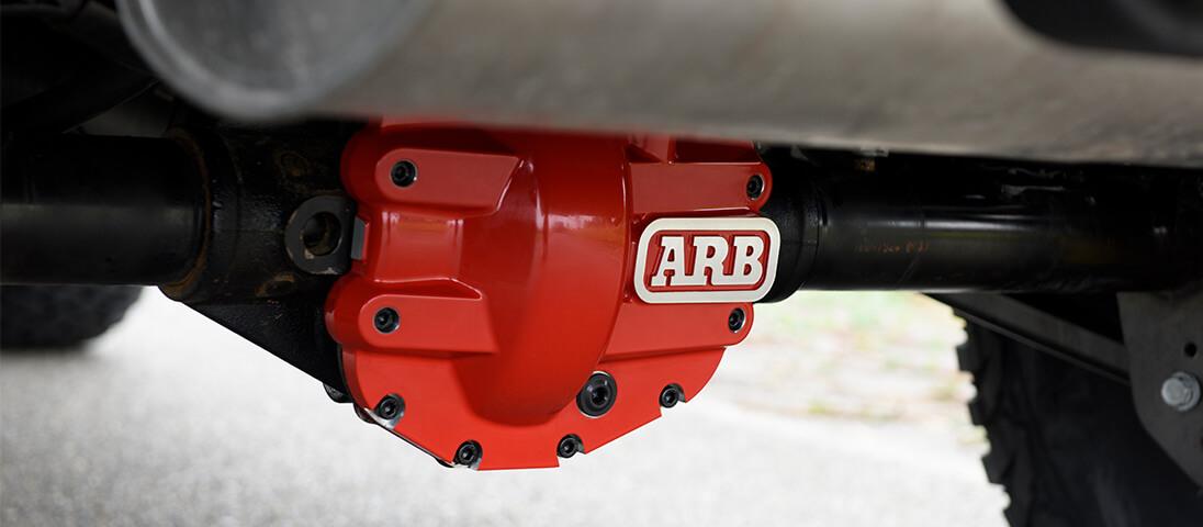 ARB デフカバー 赤 JLラングラー