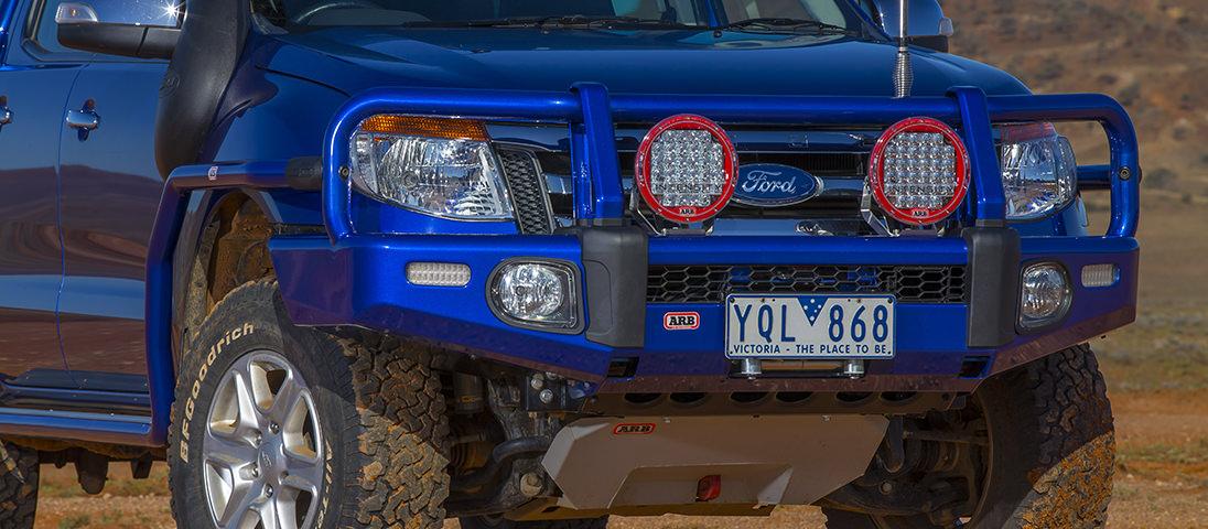 ARBサミットバンパー(フォード レンジャー Ford Ranger)Front