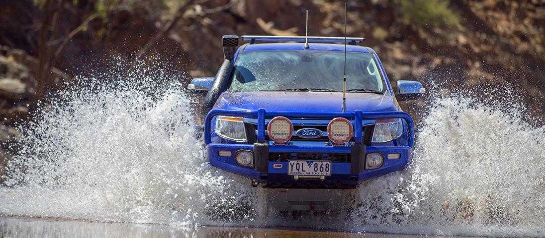 ARBサミットバンパー(フォード レンジャー Ford Ranger)Front_2