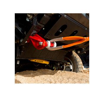 ARB 牽引フック(リカバリーポイント) 斜め牽引の評価