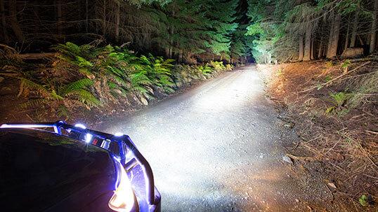ARB LED フォグランプ・ワークランプ・ドライビングランプ 点灯イメージ