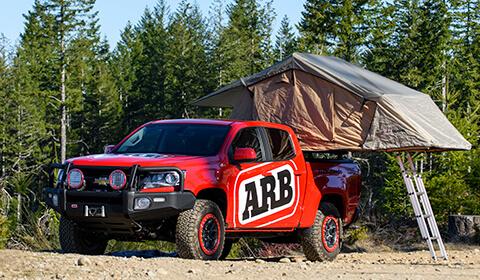 ARB ルーフトップテント SimpsonⅢ(シンプソン3) シボレー コロラド(Chevrolet Colorado)
