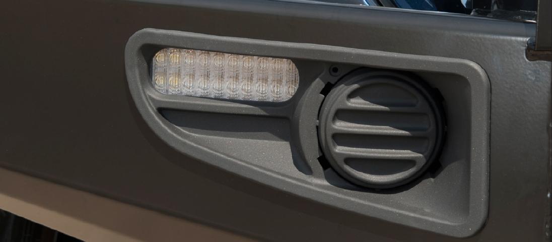 ランドクルーザー200系(ランクル200)後期 ARB コマーシャルバンパー(コマーシャルブルバー) LEDウィンカー・ポジション