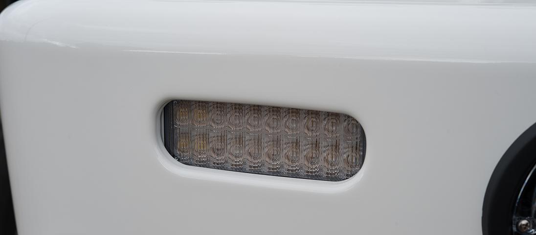 ランドクルーザー200系(ランクル200)後期 ARB サミットサハラバンパー LEDポジション・ウィンカー