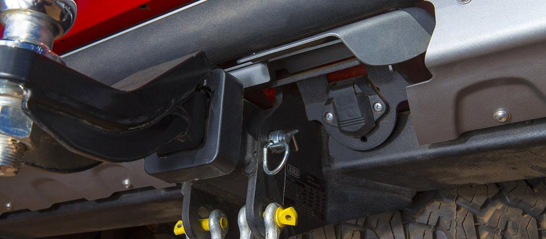 ARB サミットリアステップバンパー ハイラックス ヒッチ牽引装置