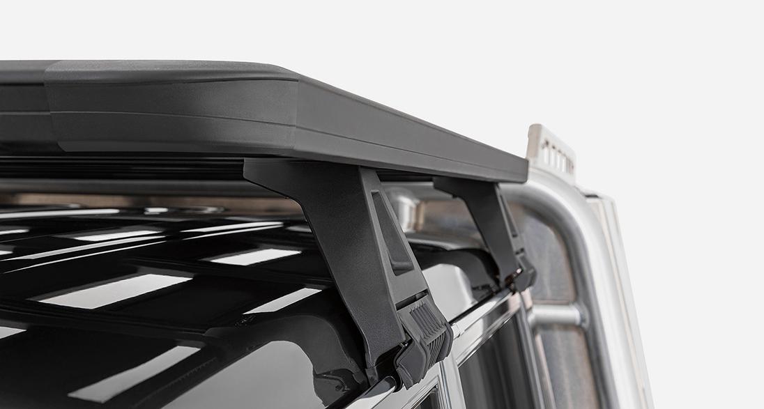 RHINO RACK(ライノラック) フラットルーフラック 雨どい装着モデル