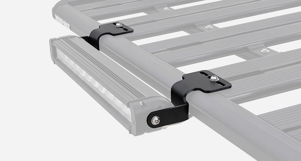 Rhino-Rack(ライノラック)オプション LEDライトバーブラケット