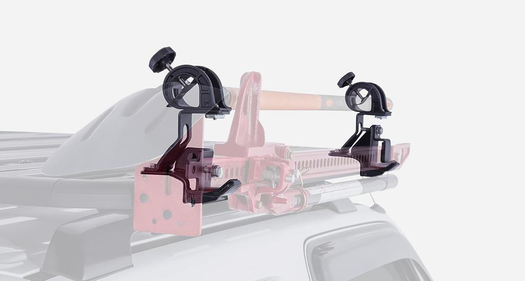 Rhino-Rack(ライノラック)オプション ハイリフトジャッキ&スコップホルダー