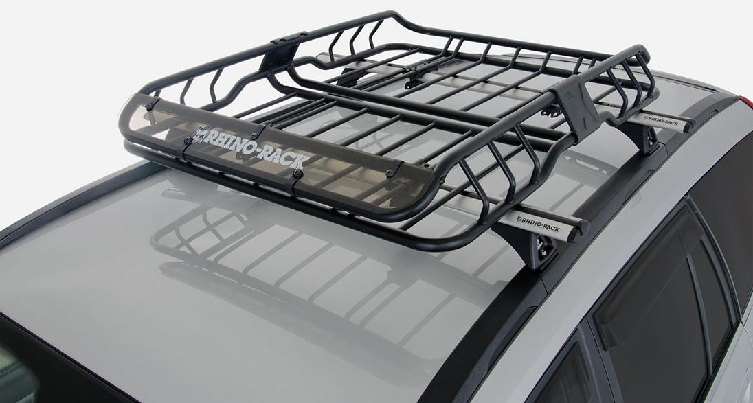 RHINO RACK(ライノラック) XTrays(Xトレイ) Small(小) 車両装着画像