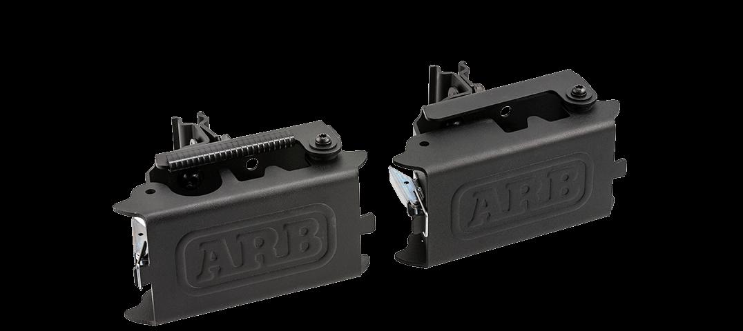 ARB BASE RACK ベースラック:薄型フラット ルーフラック ハイリフトジャッキホルダー(プレミアム)その4