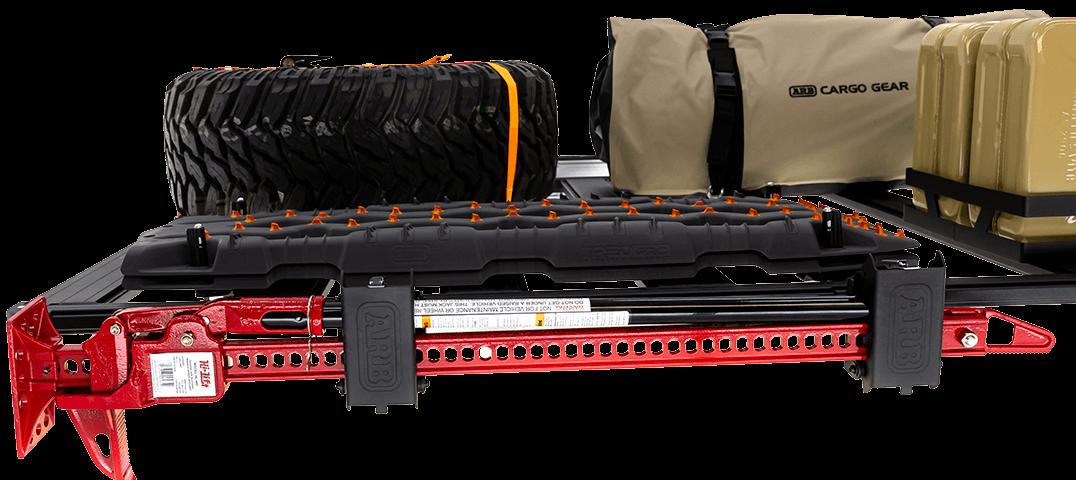 ARB BASE RACK ベースラック:薄型フラット ルーフラック ハイリフトジャッキホルダー(プレミアム)その3
