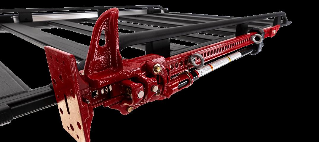 ARB BASE RACK ベースラック:薄型フラット ルーフラック ハイリフトジャッキホルダー(クラシック)