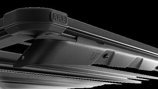 ARB BASE RACK ベースラック:薄型フラット ルーフラック ウィンドディフレクター(拡大)