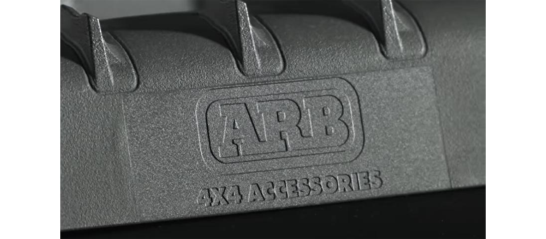 ARB TRED PRO(トレッドプロ) サンドラダー(リカバリーボード) ARBロゴ