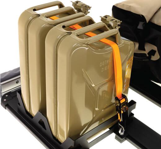 ARB BASE RACK ベースラック:薄型フラット ルーフラック ジェリー缶ホルダー