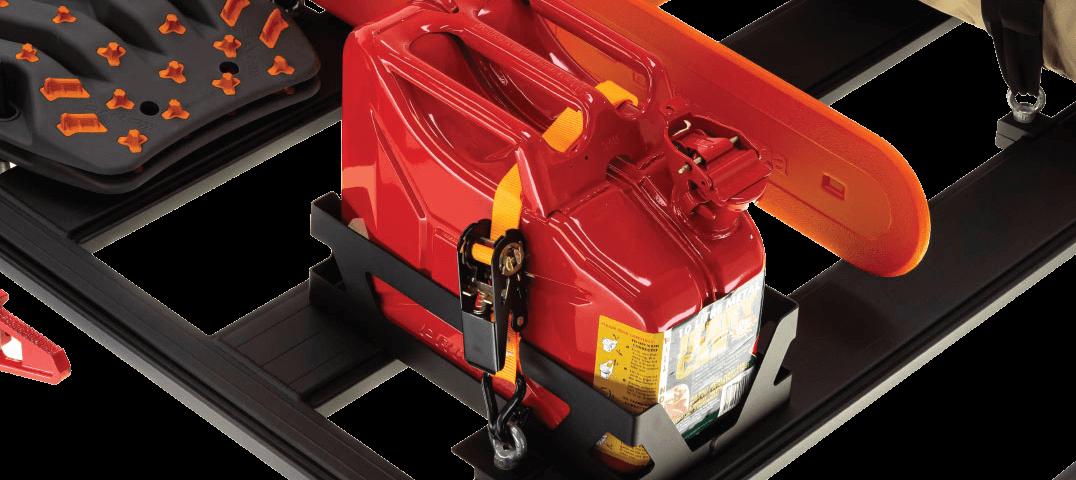 ARB BASE RACK ベースラック:薄型フラット ルーフラック ジェリー缶ホルダー その1