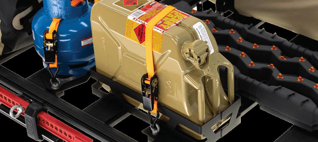 ARB BASE RACK ベースラック:薄型フラット ルーフラック ジェリー缶ホルダー その2