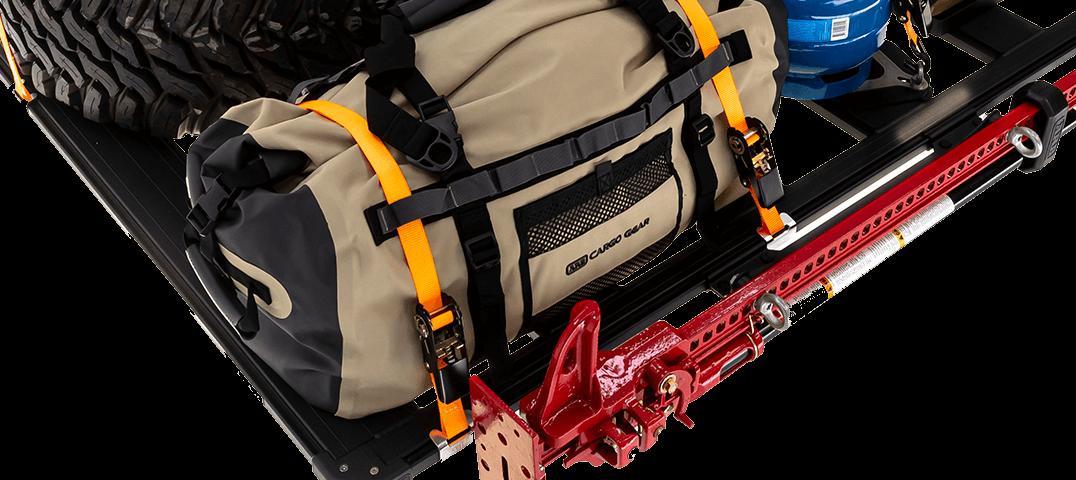 ARB BASE RACK ベースラック:薄型フラット ルーフラック ラチェットストラップ