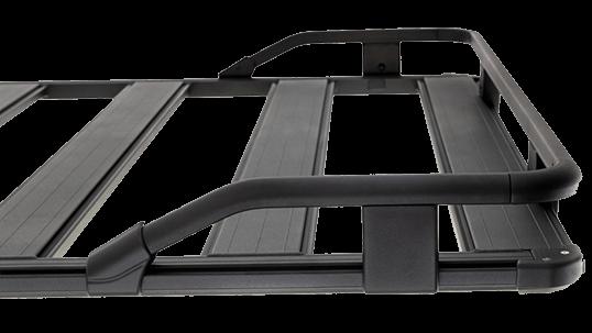 ARB BASE RACK ベースラック:薄型フラット ルーフラック サイズ・ガードレール